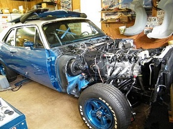Blue Nova Highly optioned car