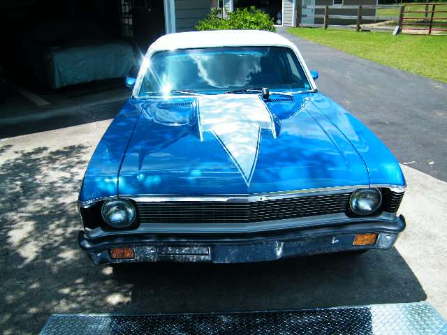 Current 1972 Blue Nova
