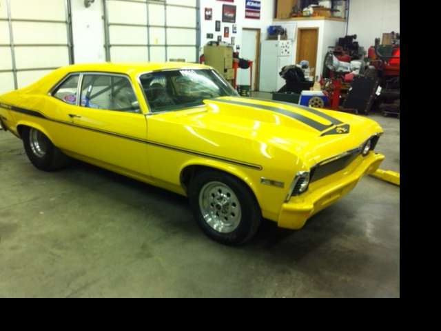 1971 Project Nova Race Car / Kansas